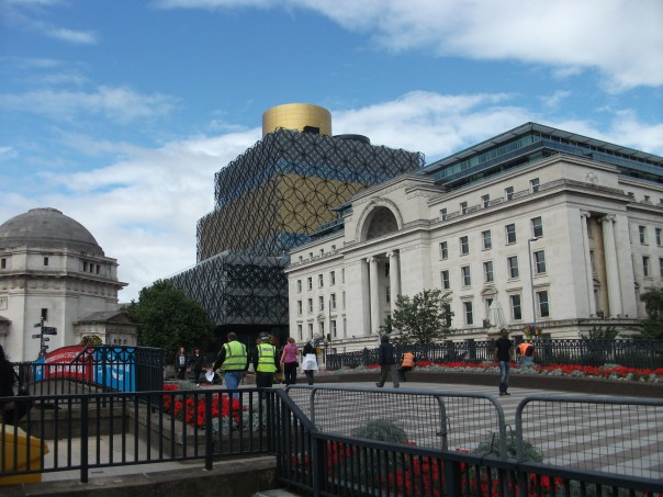 The Library takes a central position overlooking Centenary Square.