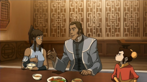 I love that Ikki is having none of Tarrlok's smooth-talking.
